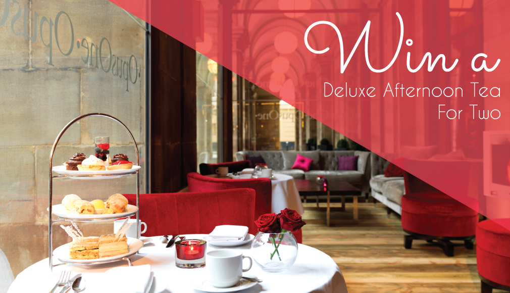 Win A Deluxe Afternoon Tea For Two