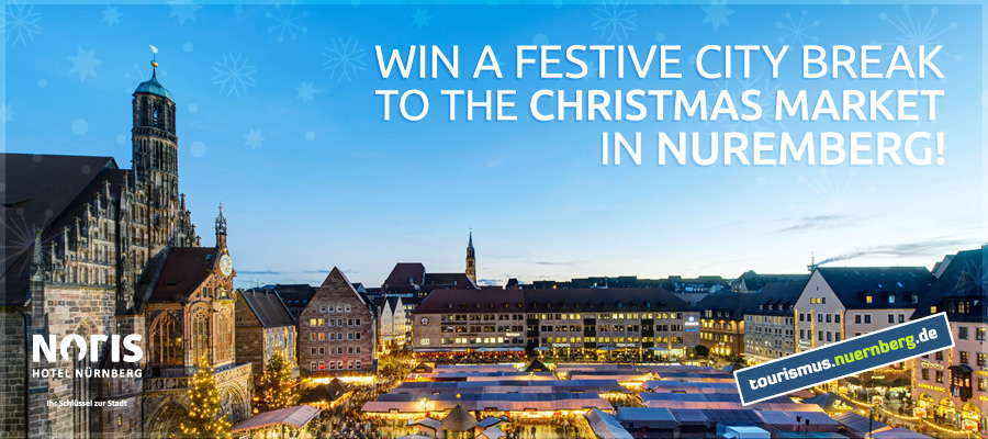 Win a Festive City Break to the Christmas Market in Nuremberg!