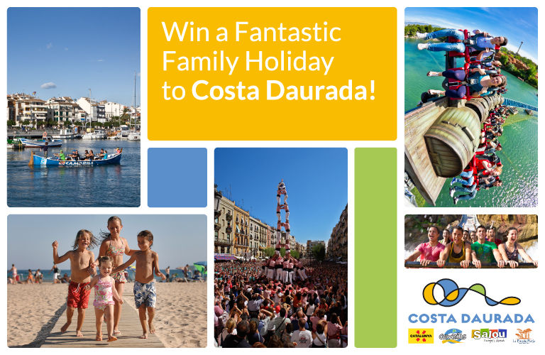 Win a Fantastic Family Holiday to Costa Daurada!