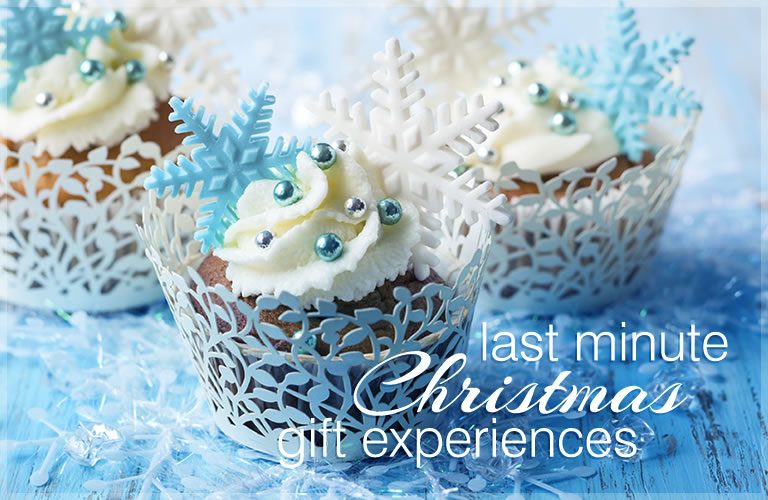 Last minute Christmas gift experiences