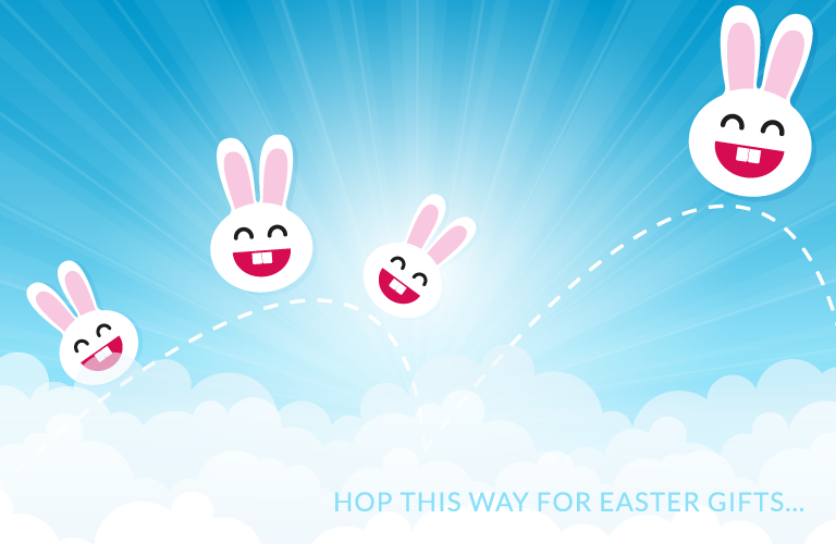Hop This Way For Easter Gifts...