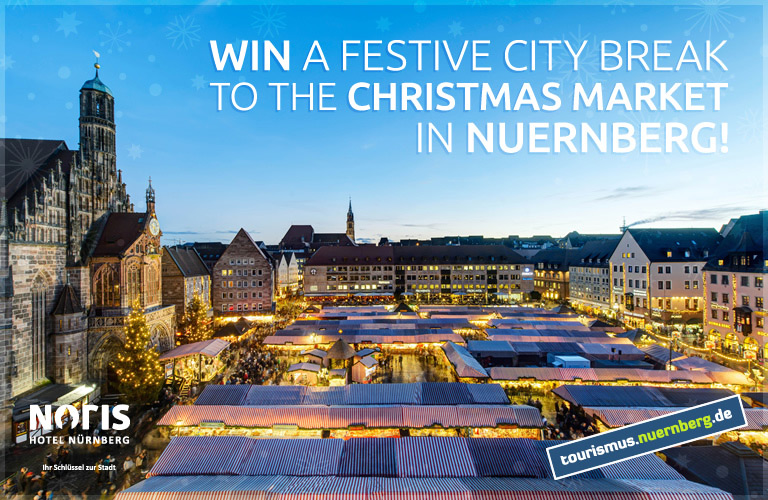 Win a festive city break to the Christmas Market in Nuremberg