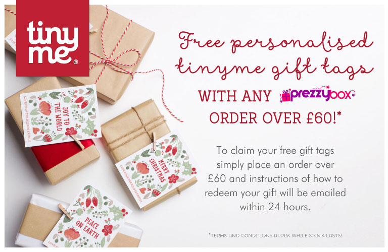 Free gift with any order over £60