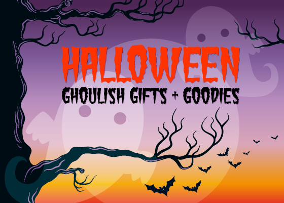 Ghoulish Gifts + Goodies for Halloween
